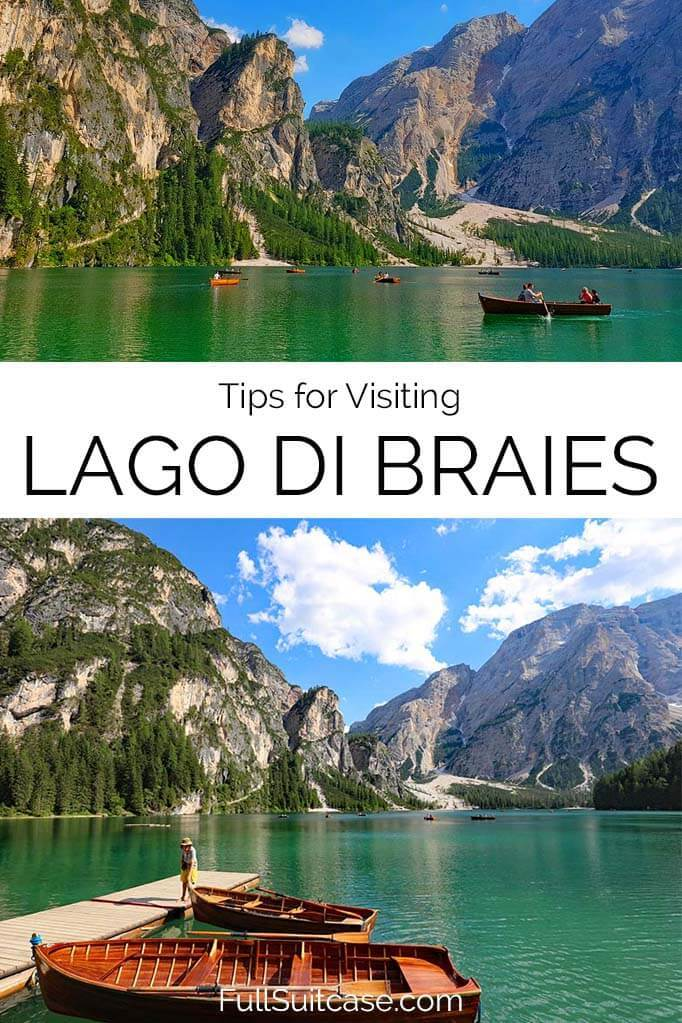 Lago di Braies travel tips and information for your visit