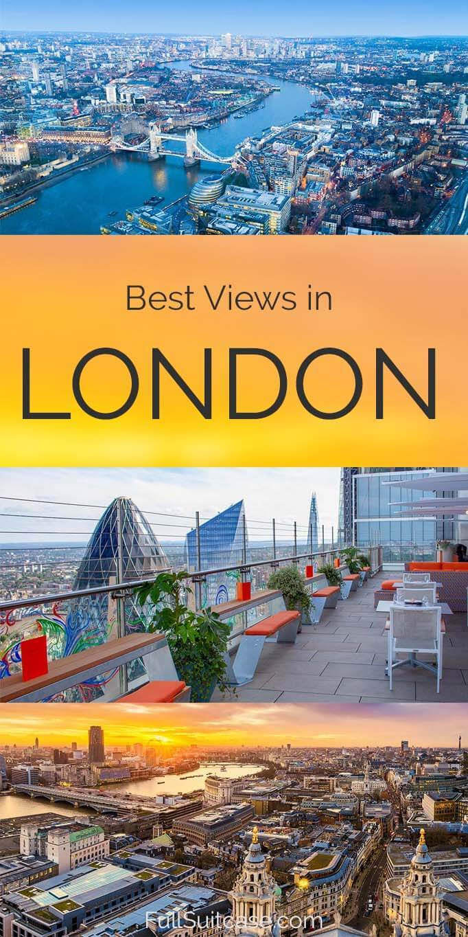 London views and best viewpoints with map