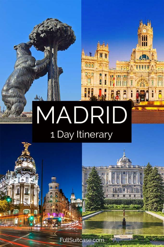 Madrid one day itinerary
