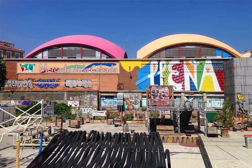 Mercado de la Cebada in Madrid