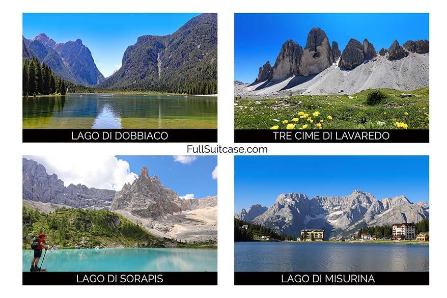Places to see near Lago di Braies in the Italian Dolomites