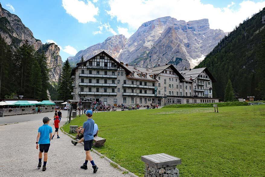 Pragser Wildsee Lago di Braies Hotel