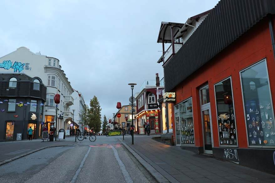 Reykjavik city center