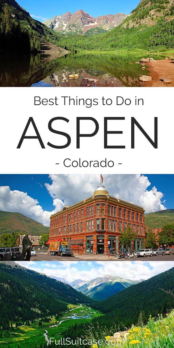 Top things to do in Aspen Colorado - a guide for all seasons