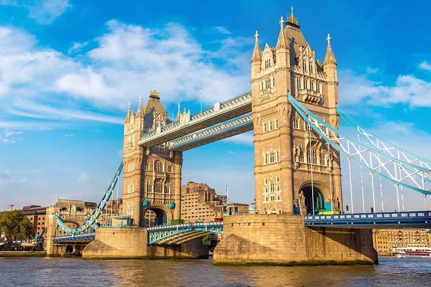 Tower Bridge - iconic view in London