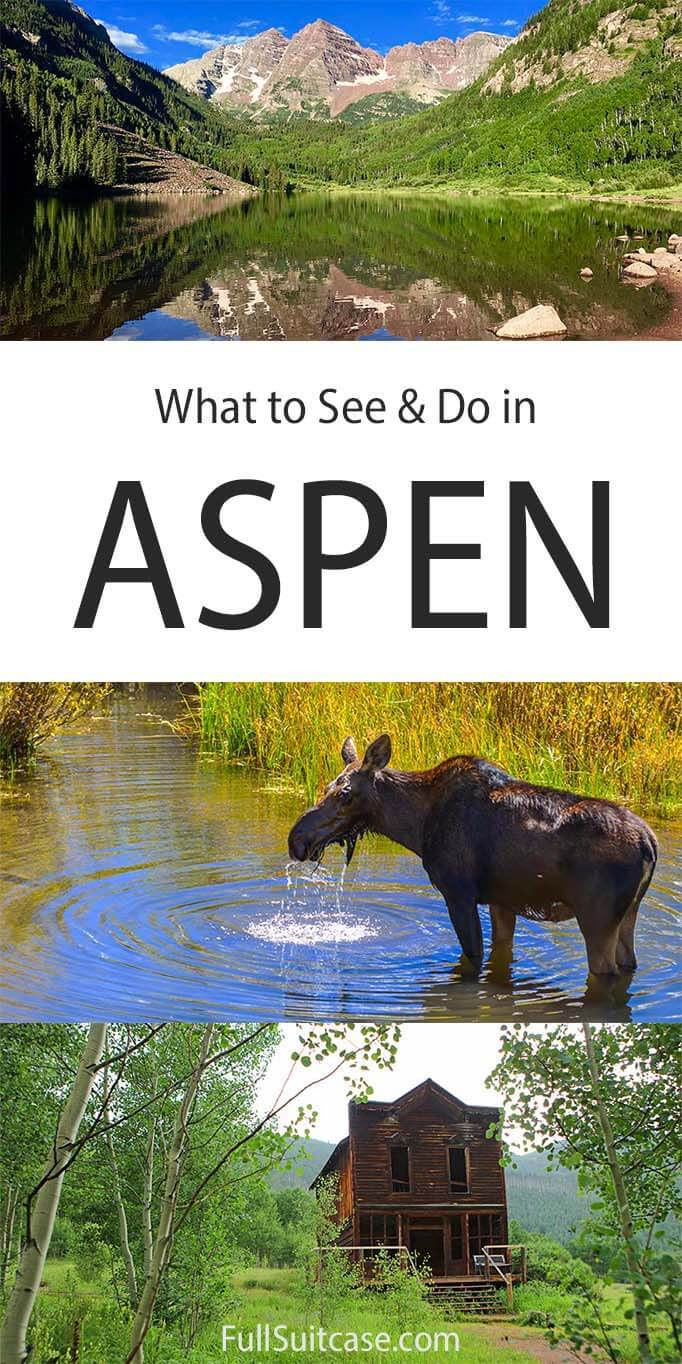 What to see and do in Aspen, Colorado, USA
