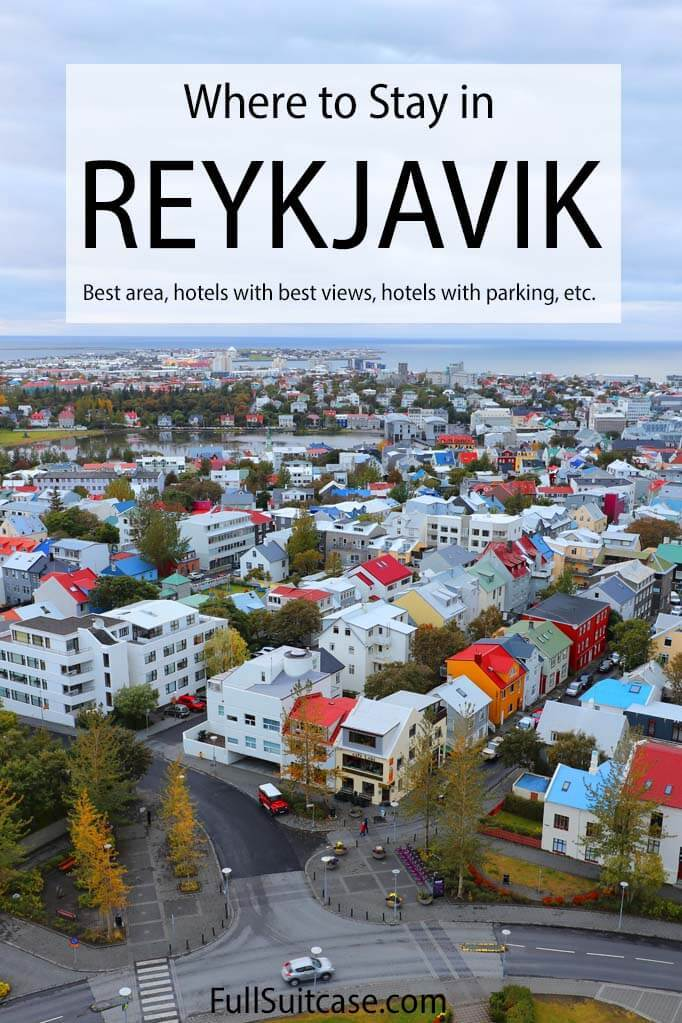 Where to stay in Reykjavik and complete guide to Reykjavik hotels
