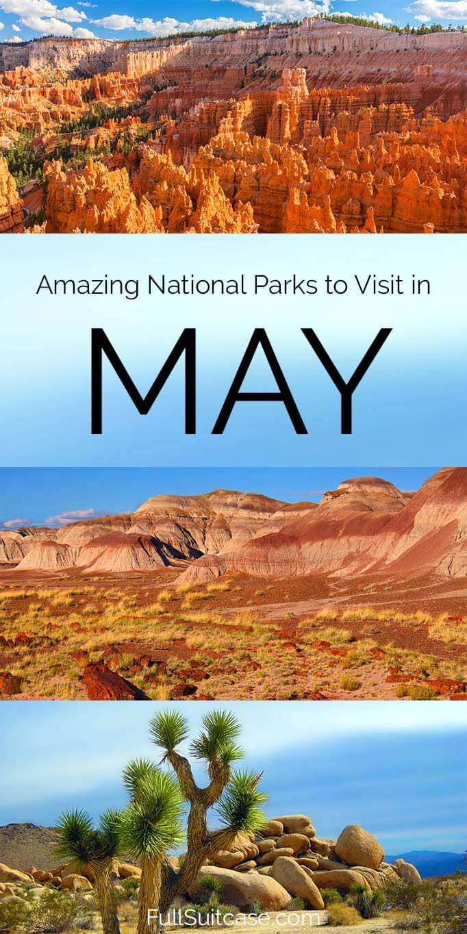 Best and less known national parks to visit in late spring