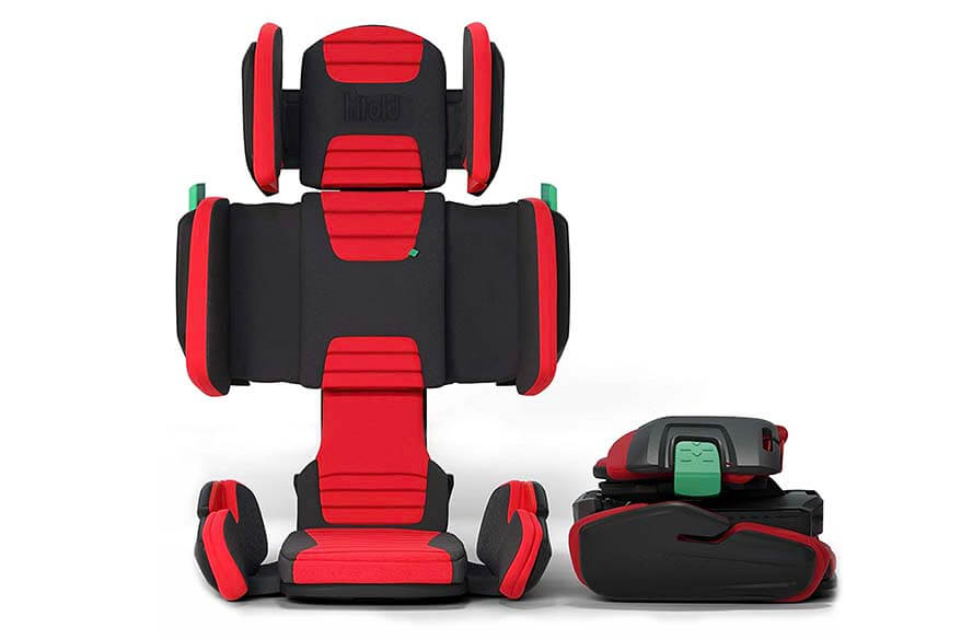 Best travel booster seats - Mifold hifold highback booster