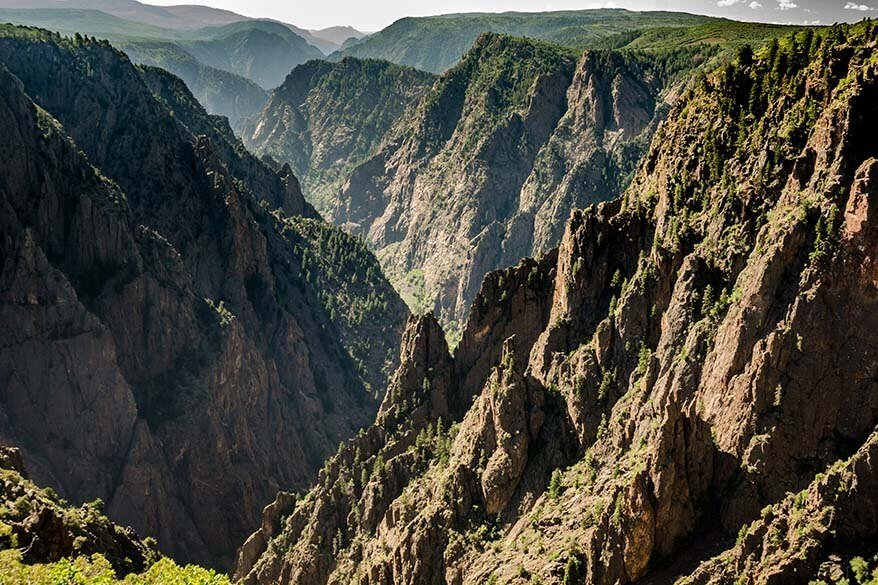 Black Canyon of the Gunnison National Park in June