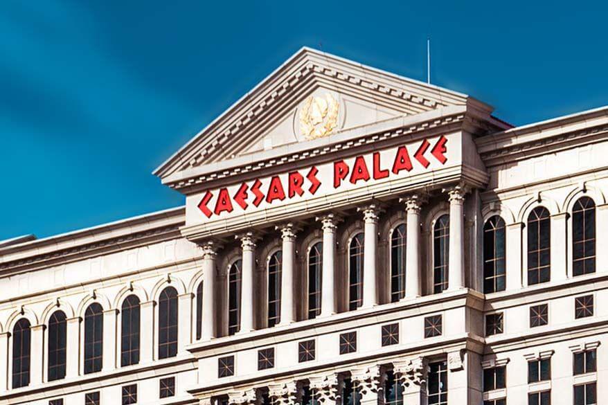 Caesars Palace Hotel and Casino in Vegas