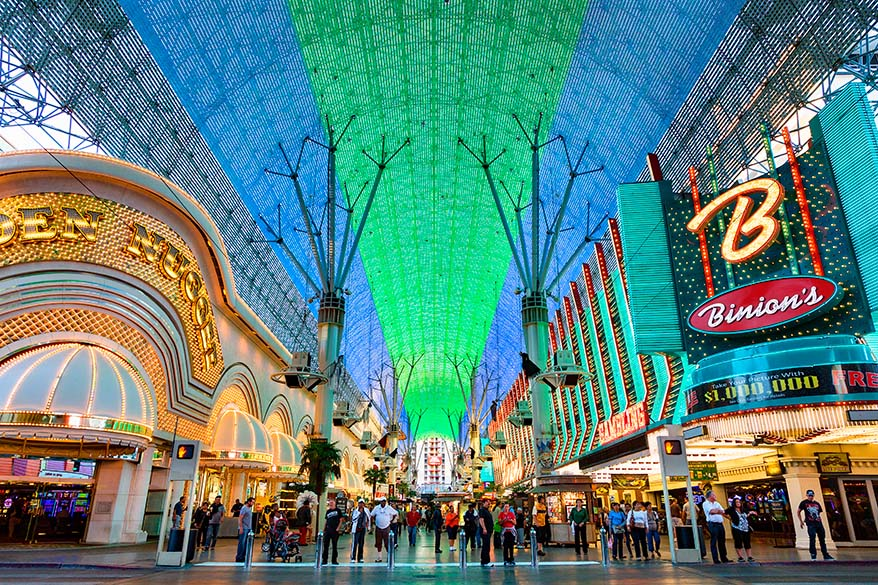 Fremont Street Experience is must see in Vegas