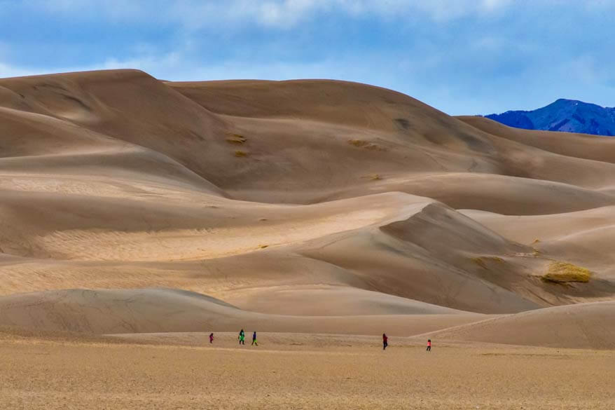 Great Sand Dunes National Park in May