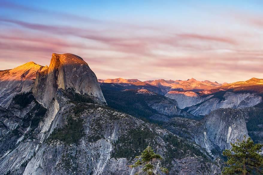 Half Dome in Yosemite National Park California