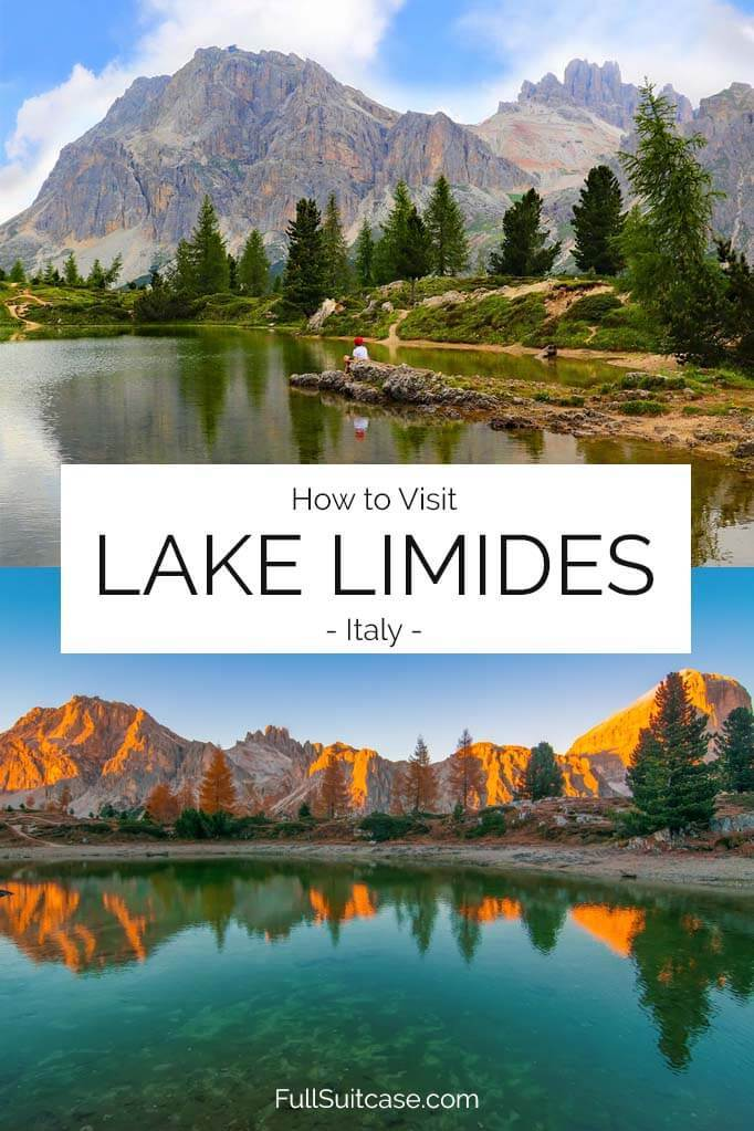 How to visit Lago di Limides in Italy (Italian Dolomites)