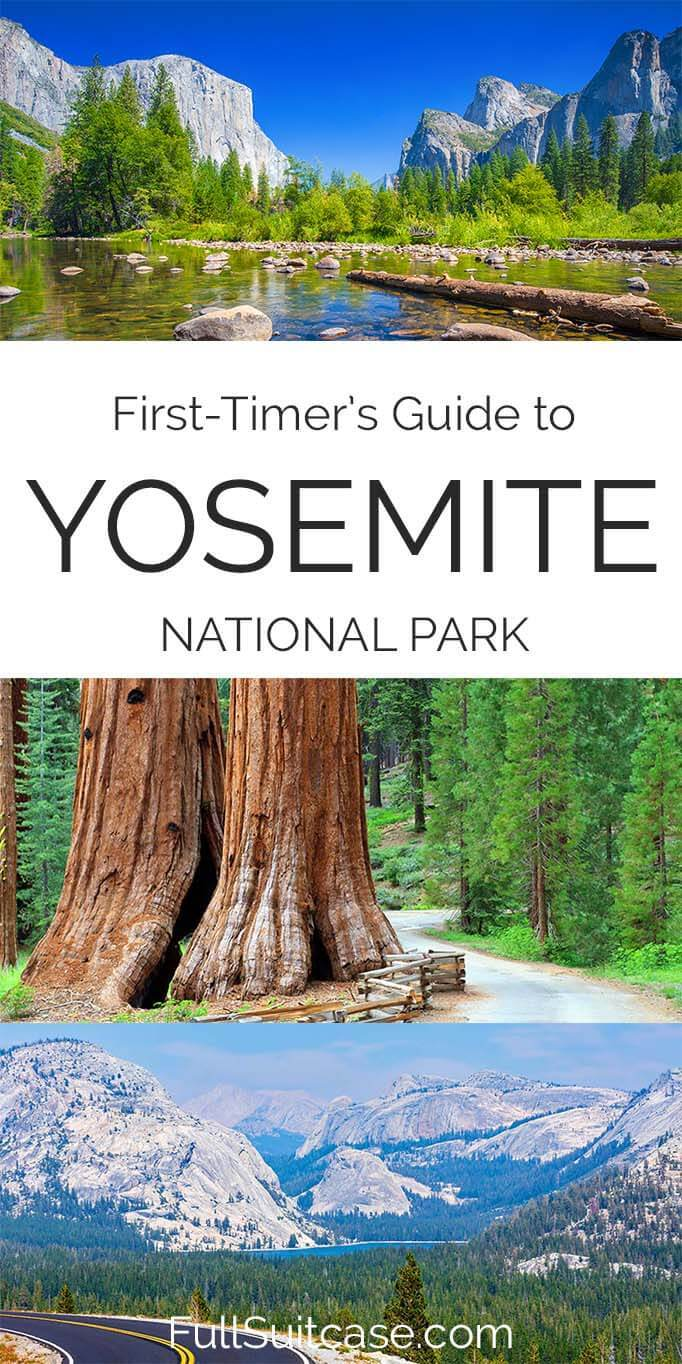 Information and tips for visiting Yosemite National Park