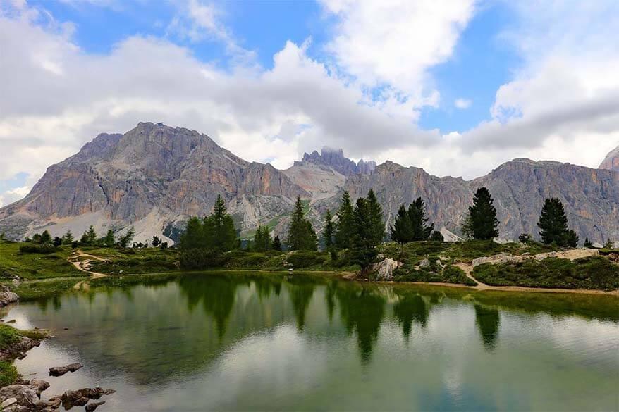 Lago di Limides Italy