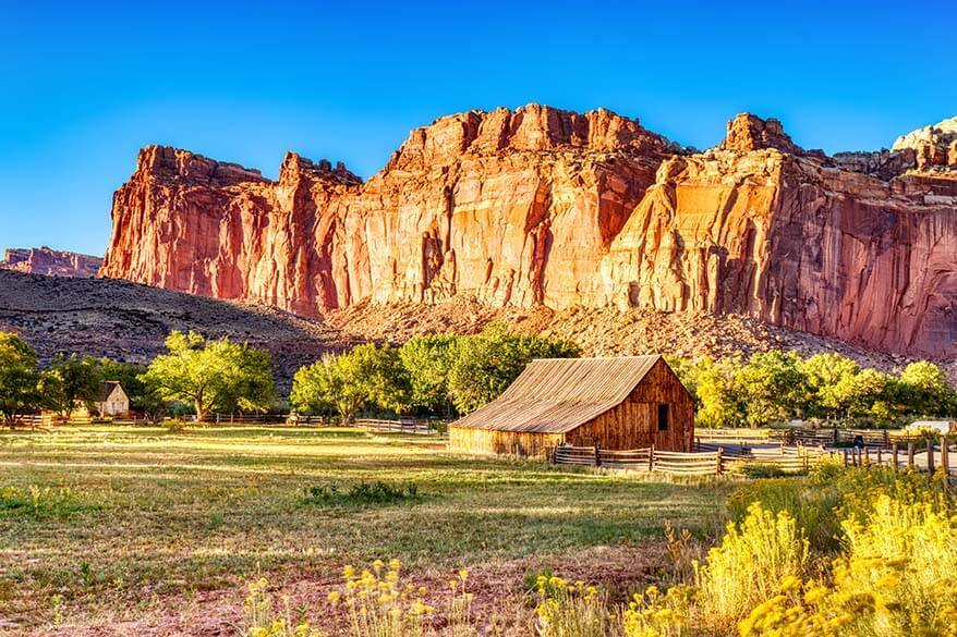 Old Barn in Fruita, Capitol Reef National Park