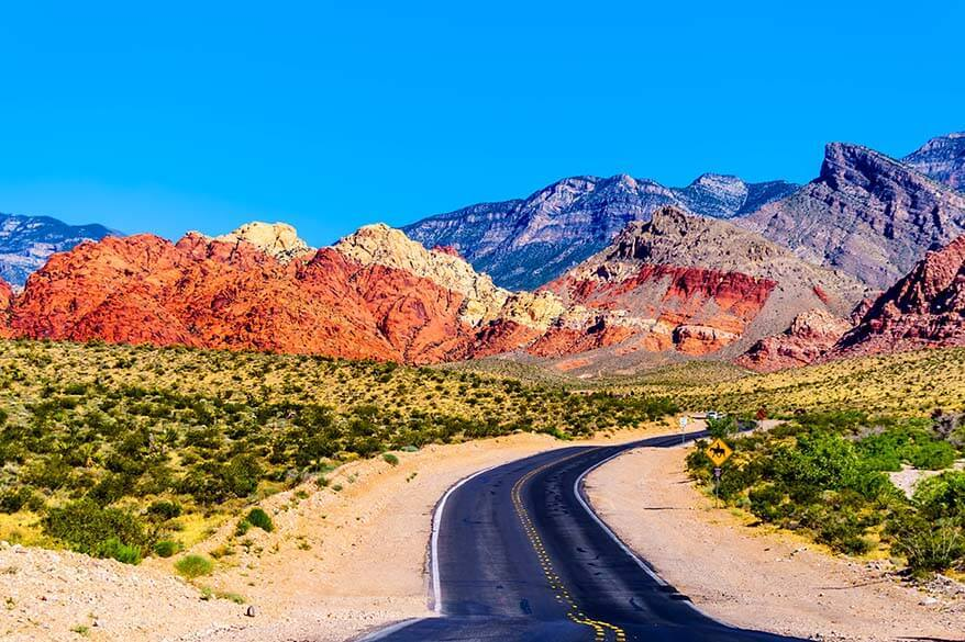 Red Rock Canyon National Conservation Area near Las Vegas