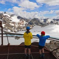 Stubai Glacier Top of Tyrol in Austria