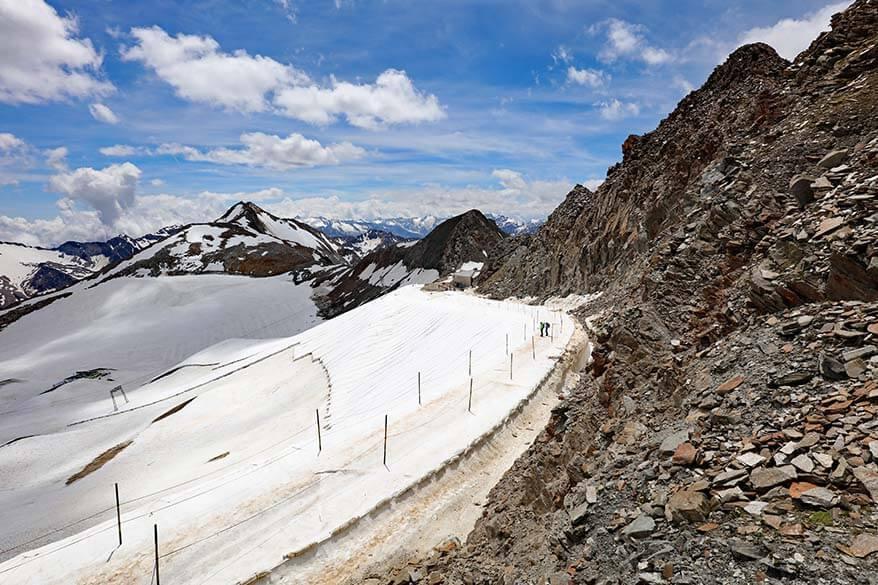 Stubai Glacier in summer