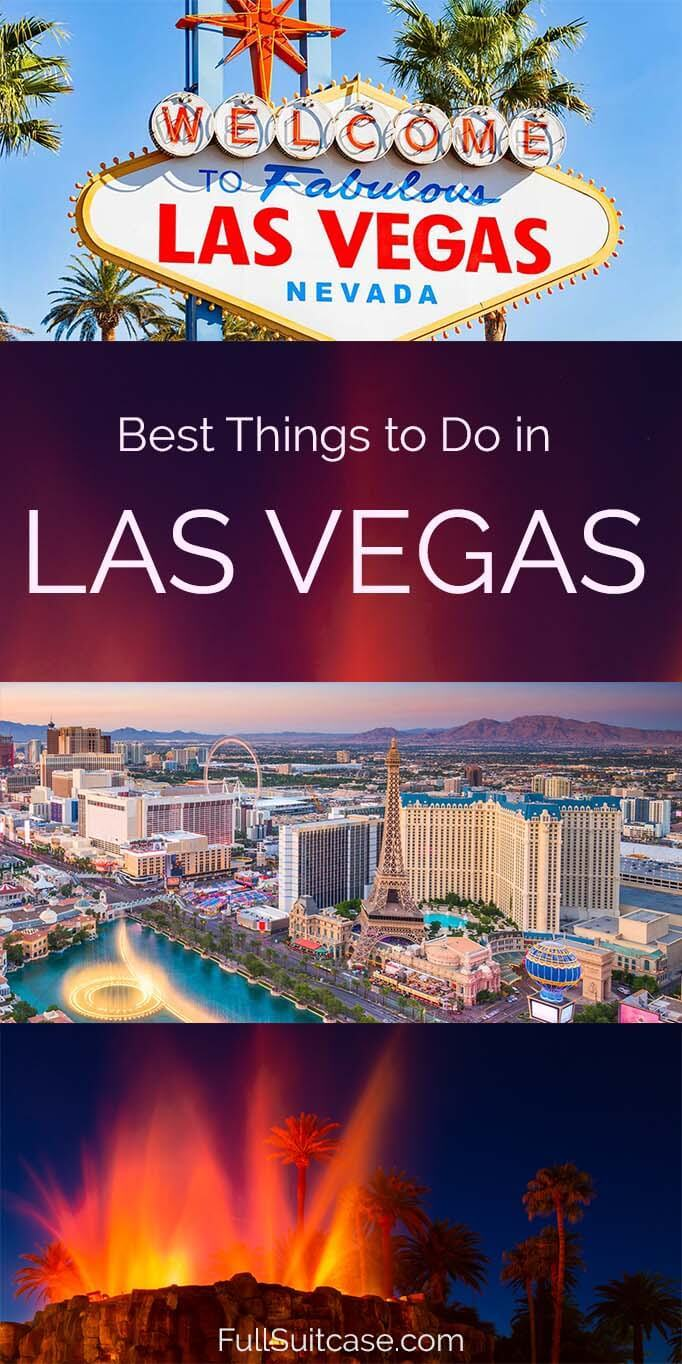 Top sights and things to do in Las Vegas USA