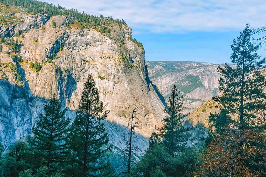 Views of the Yosemite Valley