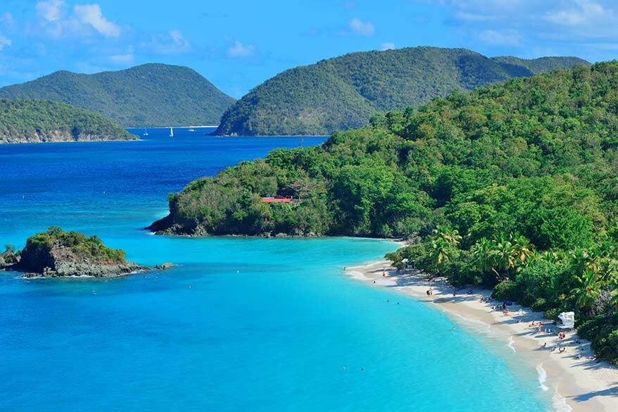 Where to travel in June - Virgin Islands National Park
