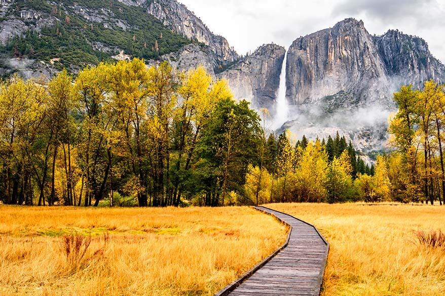 Yosemite in the fall