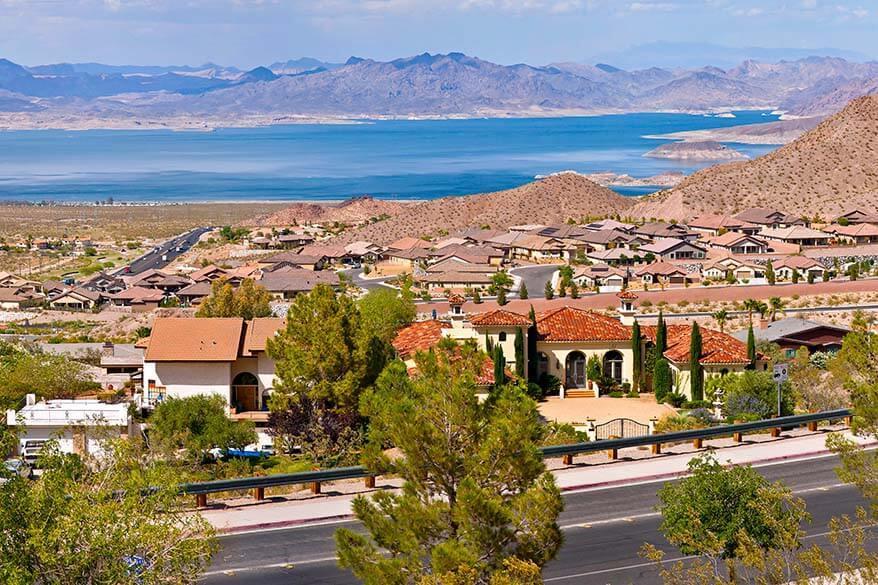Boulder City is a nice place to visit near Las Vegas