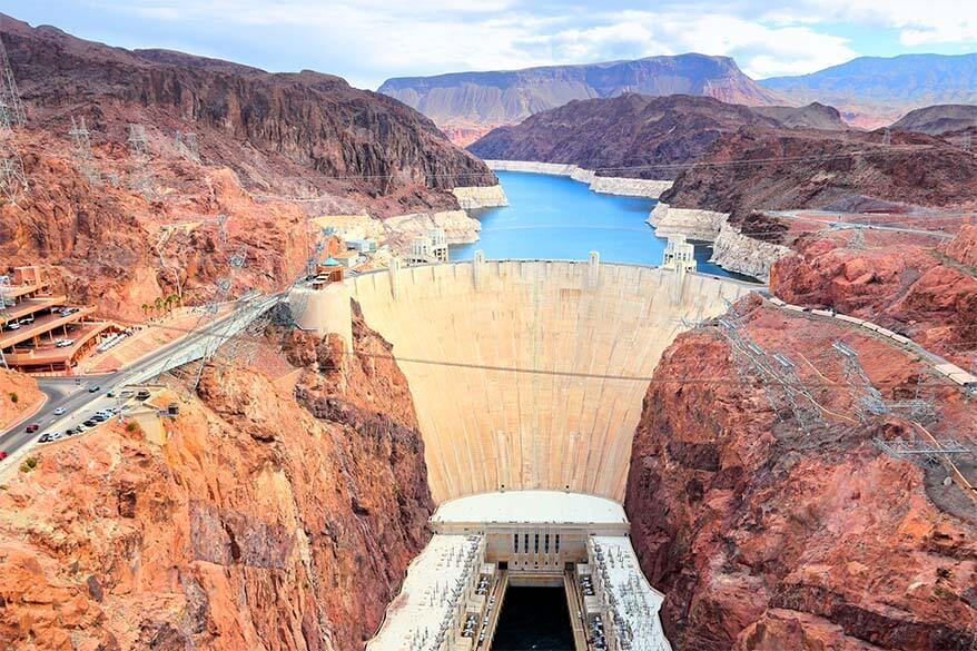 Hoover Dam is one of the most popular places to visit near Las Vegas