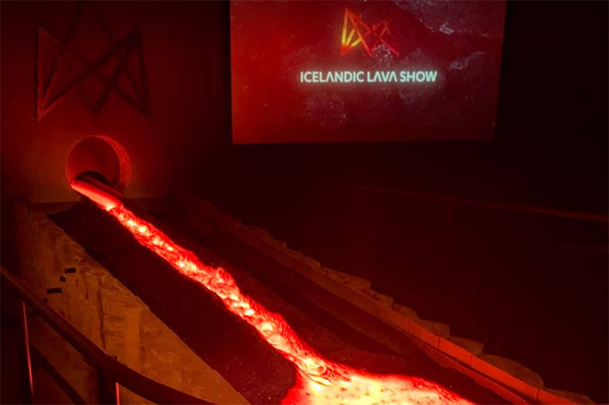 Icelandic lava show is one of the new Iceland south coast attractions