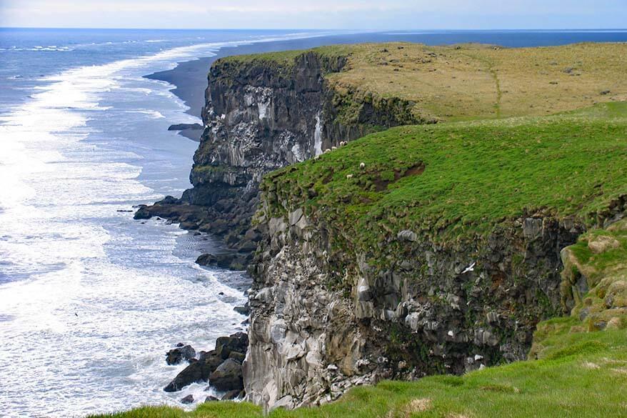 Ingolfshofdi Cape in South Iceland