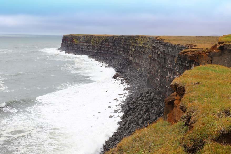 Krysuviikurberg Cliffs Iceland