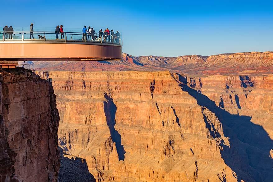 Las Vegas day trips - Grand Canyon Skywalk