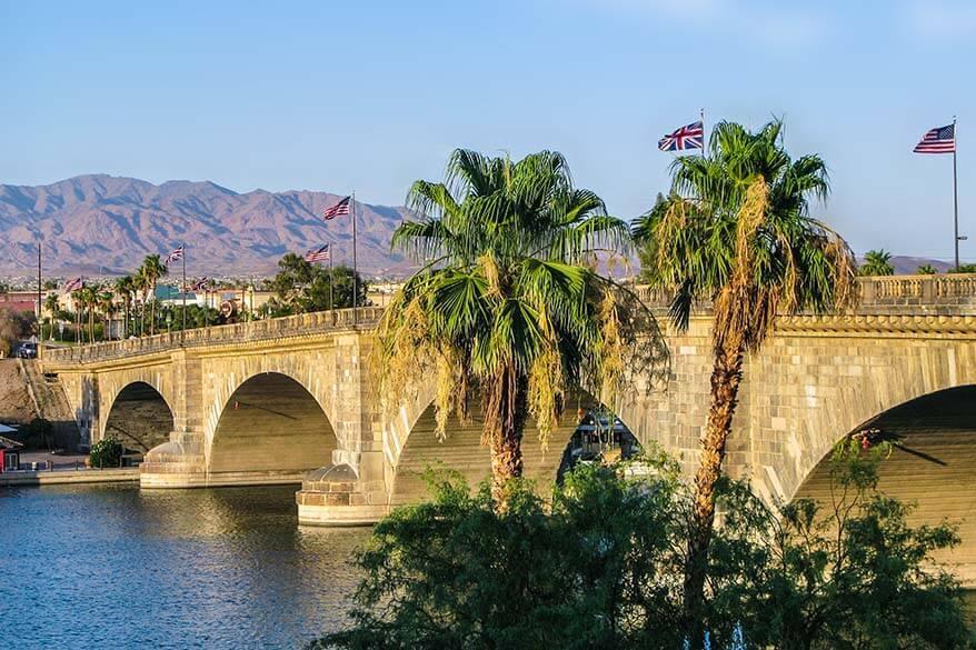London Bridge at Lake Havasu in Arizona