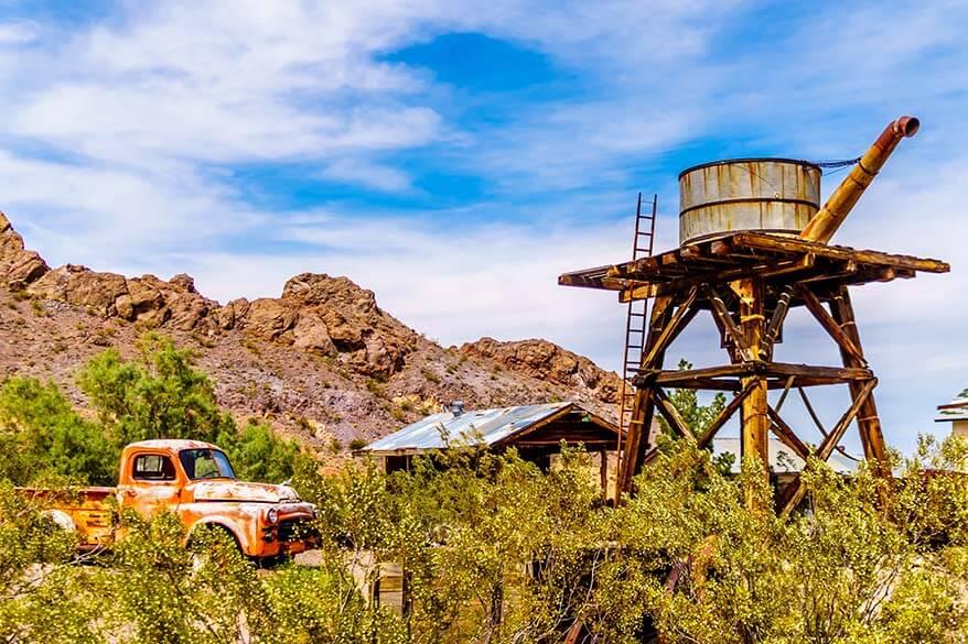 Nelson Ghost Town at Eldorado Canyon near Las Vegas