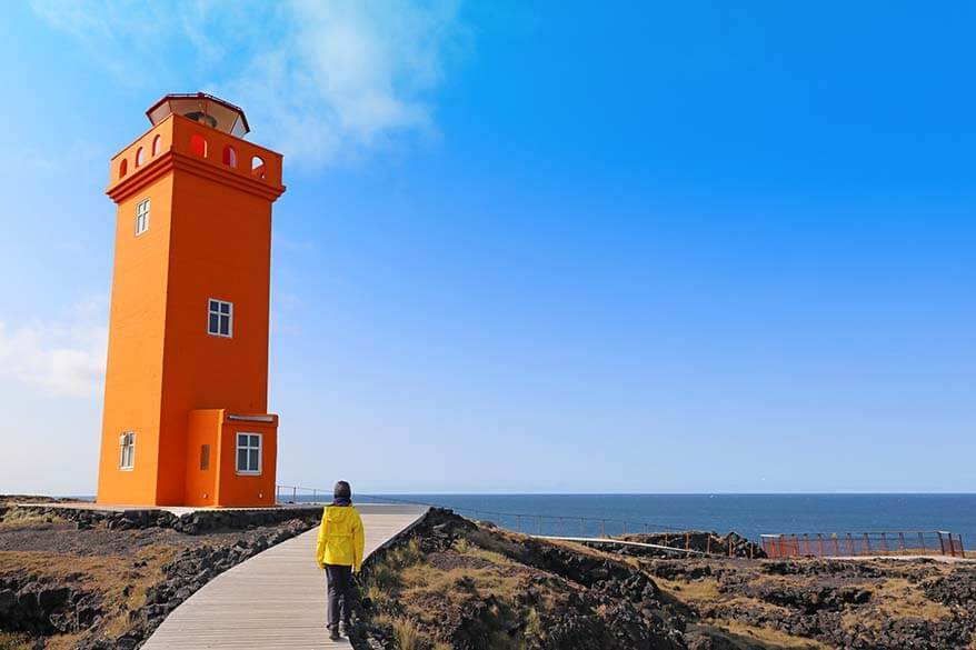 Svörtuloft Lighthouse in Iceland