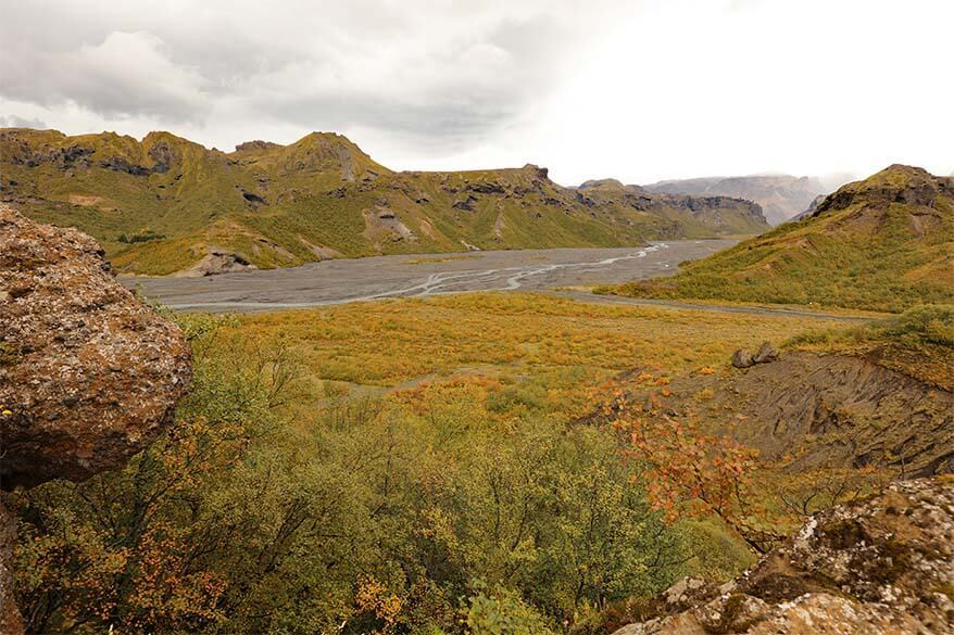 Thorsmork in the highlands of Iceland