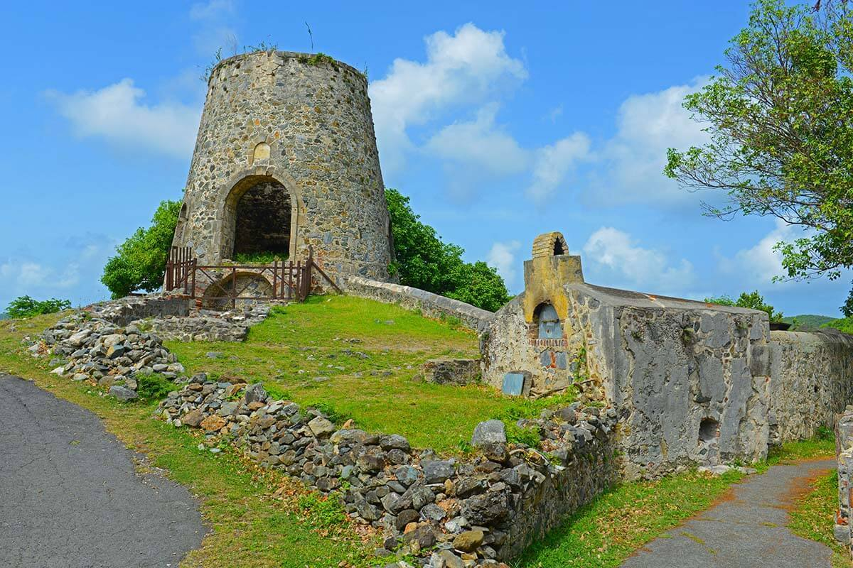 Annaberg Sugar Plantation is one of the must see places in Saint John USVI