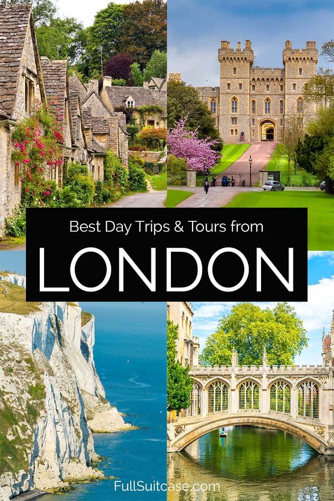 Best London day trips and most popular day tours from London