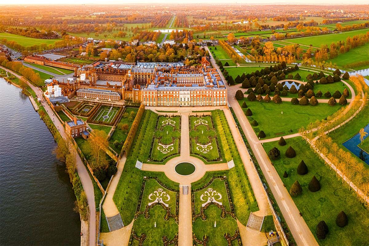 Hampton Court Palace near London