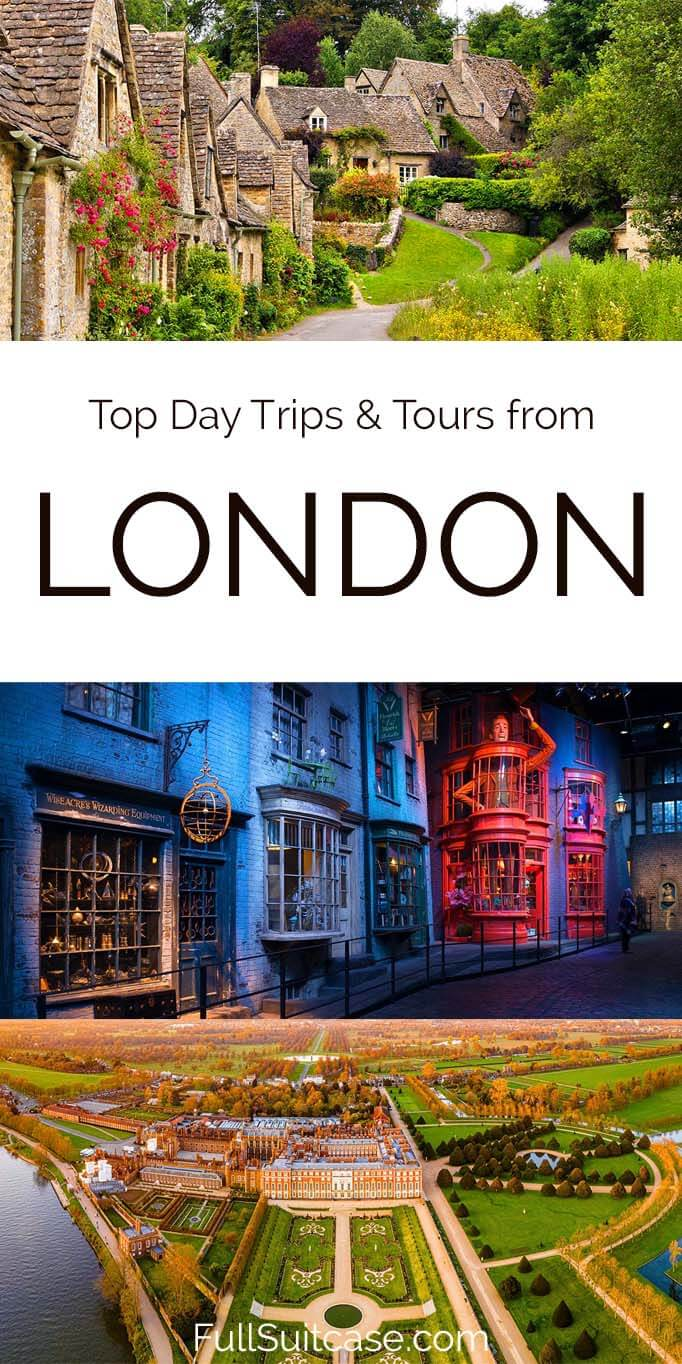 Best UK day trips near London, tours, and info on how to visit