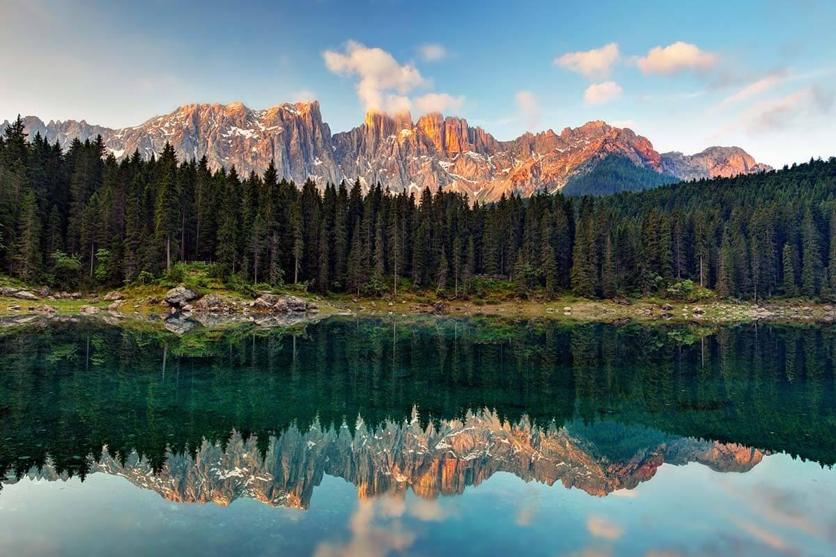 Best lakes in the Dolomites - Lago di Carezza