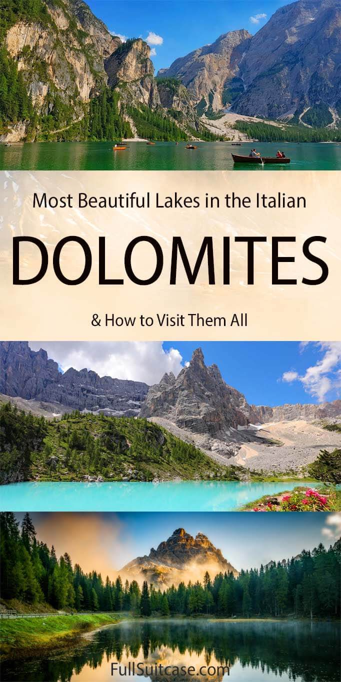 Best lakes to see in the Dolomites in Italy