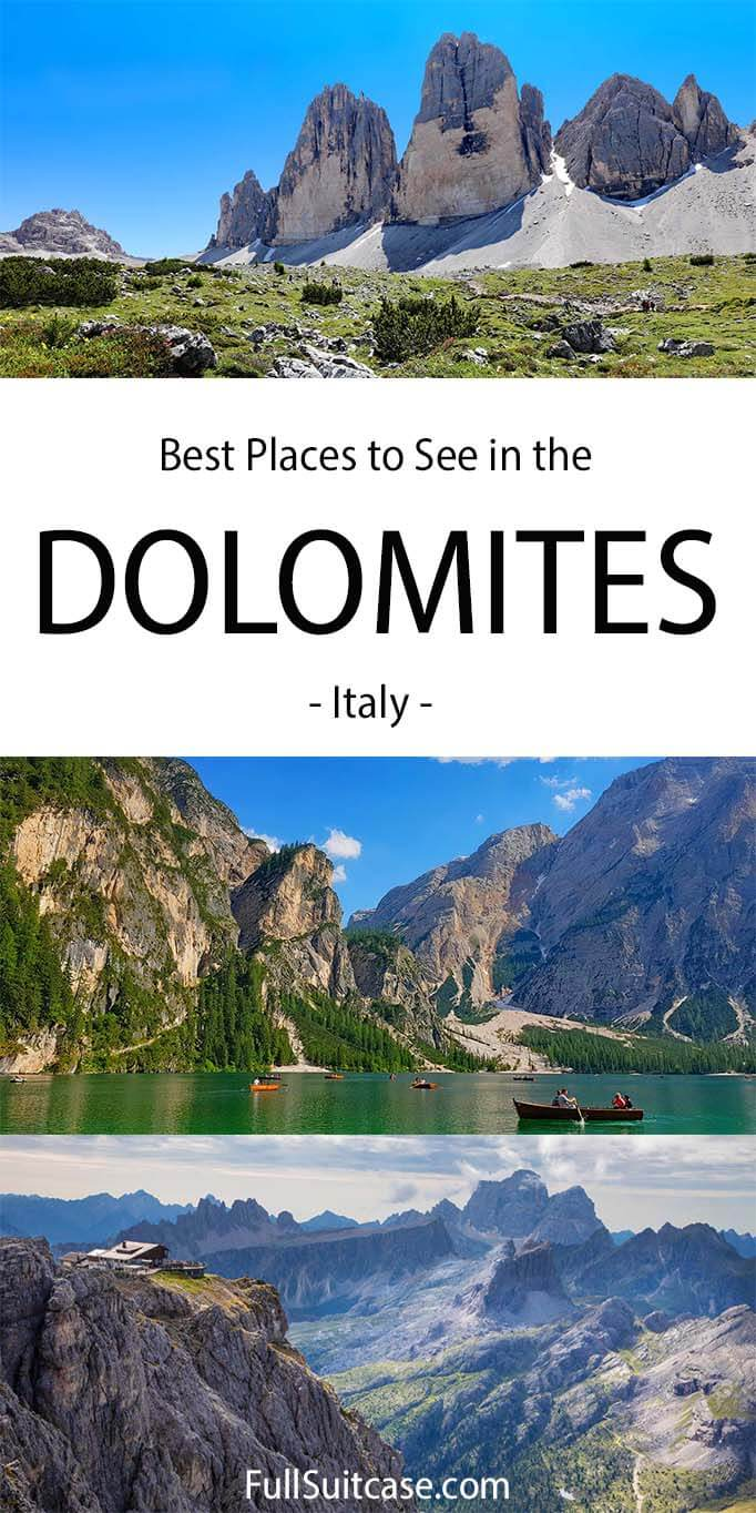 Best of the Dolomites Italy
