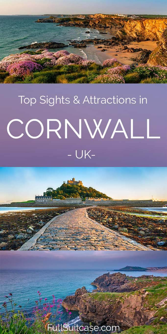 Best places to see and things to do in Cornwall, England, UK