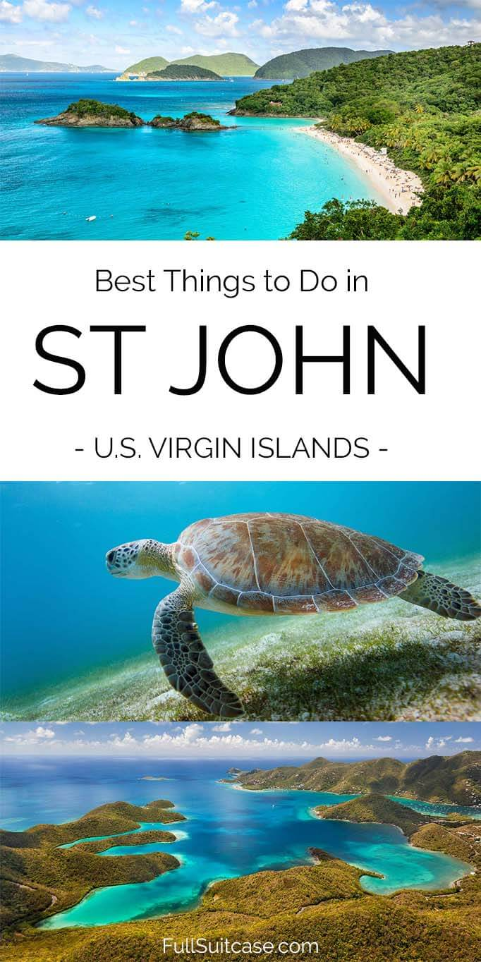 Best places to see and things to do in Saint John US Virgin Islands