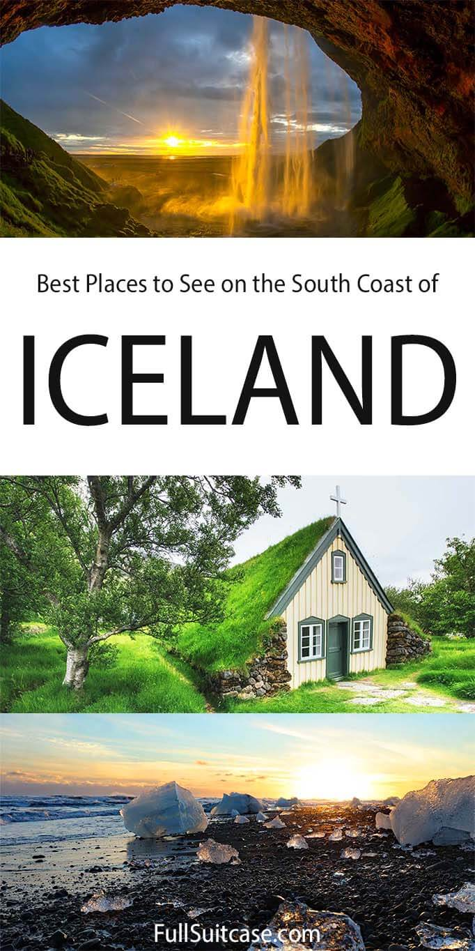 Best places to see and things to do on the south coast in Iceland