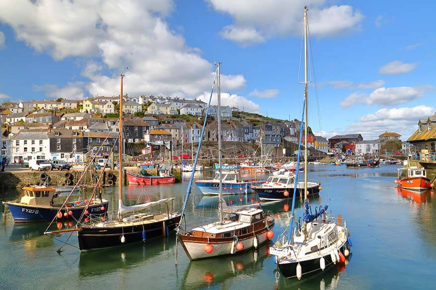 Best places to see in Cornwall - Mevagissey